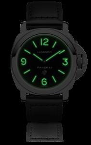 Men's Panerai Luminor Base Logo Acciaio 44mm Black Dial Replica Watches