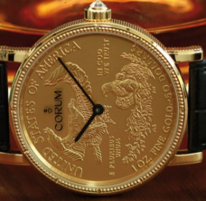 Men's Yellow Gold Corum Heritage Fake Watches