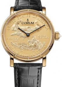 Men's Yellow Gold Corum Heritage Replica Watches