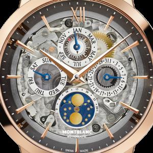 Men's Montblac Heritage Spirit Perpetual Calendar Sapphire Fake Watches