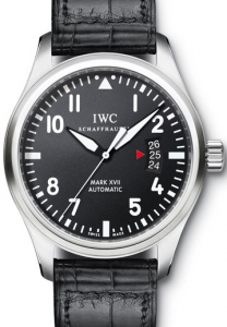 Simple Men's IWC Pilot's Mark XVII Replica Watches