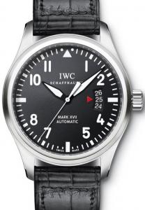 Simple Men's IWC Pilot's Mark XVII Replica Watches