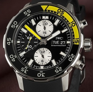 Luminescent Men's IWC Aquatimer Replica Chronographs