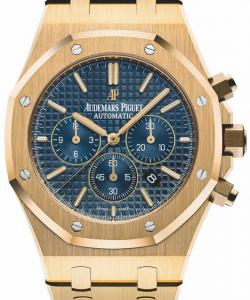 New Men's Yellow Gold Audemars Piguet Royal Oak Replica Watches