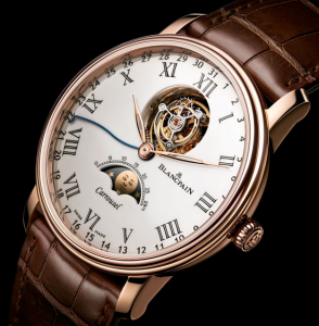 Blancpain Villeret Replica Watches With Moon Phase Display