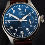 "IWC Big Pilot's Watch Edition ""Le Petit Prince"" Blue Dial Fake Watches"