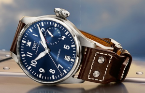 "IWC Big Pilot's Watch Edition ""Le Petit Prince"" Blue Dial Replica Watches"
