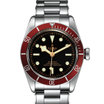 Men's 41MM Tudor Heritage Black Bay Steel Cases Replica Watches