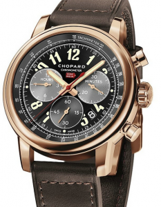 Pretty Rose Gold Chopard Mille Miglia 2016 XL Race Edition Fake Watches