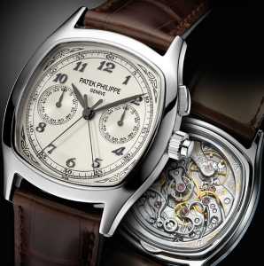 Steel Patek Philippe Split Seconds Chronograph Fake Watches