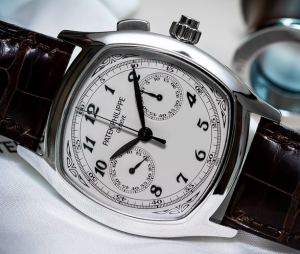 Steel Patek Philippe Split Seconds Chronograph Replica Watches
