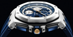 Special Blue Dials Audemars Piguet Royal Oak Offshore Fake Watches By Henrik Stenson