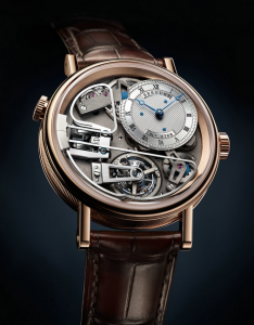 Swiss Breguet Tradition 7087 Copy Watches With Rose Gold Cases