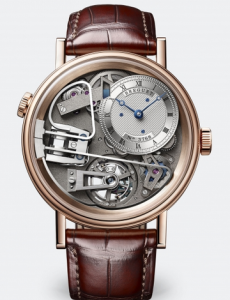 Swiss Breguet Tradition 7087 Fake Watches With Rose Gold Cases