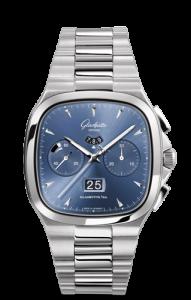 Retro 40MM Glashutte Original Seventies Chronograph Panorama Date Copy Watches
