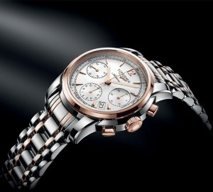 Swiss Silver Dials Longines Saint-Imier Fake Watches Presented By Aaron Kwok