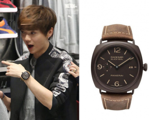 Special Brown Dials Panerai Radiomir Composite Black Seal Copy Watches For LUHAN