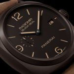 Special Brown Dials Panerai Radiomir Composite Black Seal Replica Watches For LUHAN