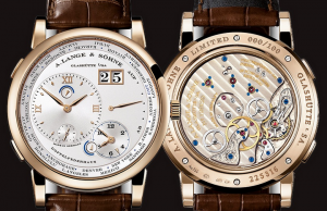 Swiss Honey Gold Cases A.Lange&Sohne Lange 1 Time Zone Limited Edition Copy Watches