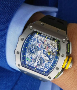 Swiss Titanium Cases Richard Mille RM 11-03 Automatic Flyback Chronograph Fake Watches