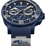 Classic Self-winding Movements Ulysse Nardin Diver Chronograph Artemis Racing Limited Edition Fake Watches