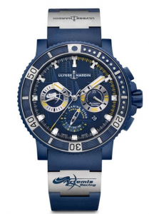 Classic Self-winding Movements Ulysse Nardin Diver Chronograph Artemis Racing Limited Edition Replica Watches