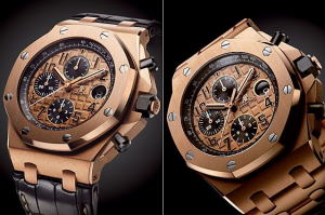 Audemars Piguet Royal Oak Offshore Chronograph Fake Watches With Pink Gold Cases