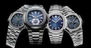 Patek Philippe Nautilus Copy Watches With Blue Dials