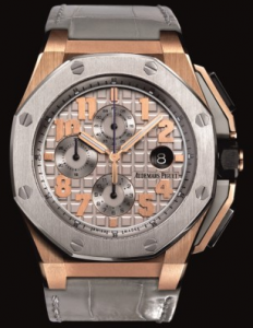 Silvery Grey Dials Audemars Piguet Royal Oak Offshore Chronograph LeBron James Fake Watches