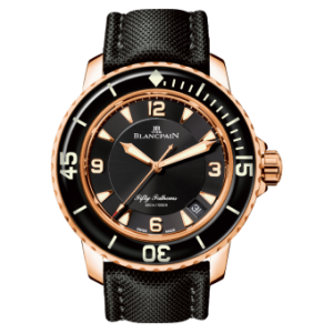 Top Self-winding Movements Blancpain Fifty Fathoms Automatique Copy Watches By Brad Pitt