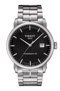 Tissot Luxury Powermatic 80 Replica Watches With Black Dials