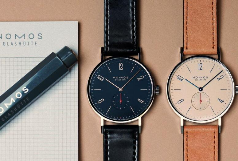 The Nomos watches have embodied the ultimate simplicity perfectly.