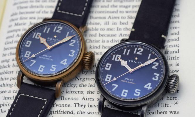 The oversized hour markers ensure the ultimate legibility.