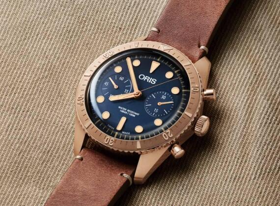 The vintage style and high quality make this Oris very popular among young men.