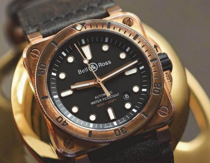 This Bell & Ross diving watch caused a heat when it was launched.
