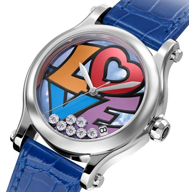 Hot-selling reproduction watches present mobile diamonds.