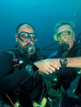 The Fifty Fathoms has been considered as the standard of diving watches.