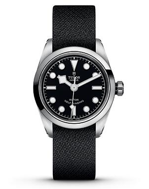 Swiss imitation watches for best sale are delicate with black fabric straps.