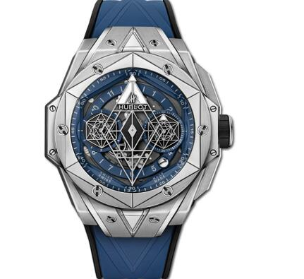The special Hublot presents high level of watchmaking industry.