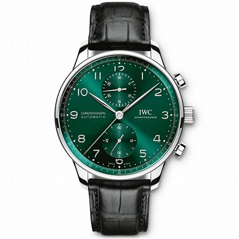 The Arabic numerals hour markers ensure the good readability of IWC fake watch.