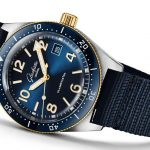 AAA replica watches maintain fashion with blue color.
